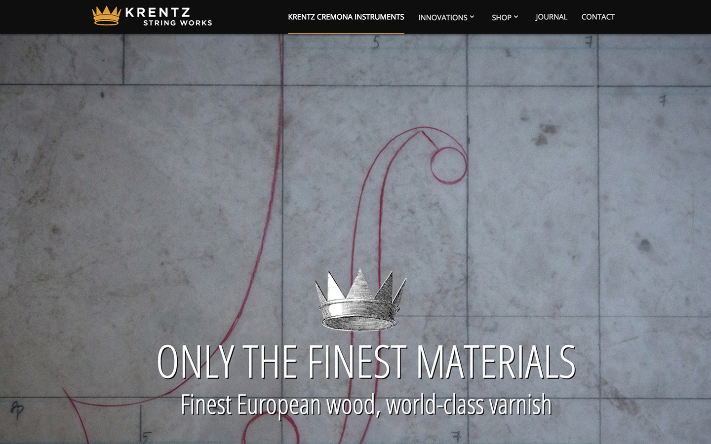 Krentz String Works Instruments Page