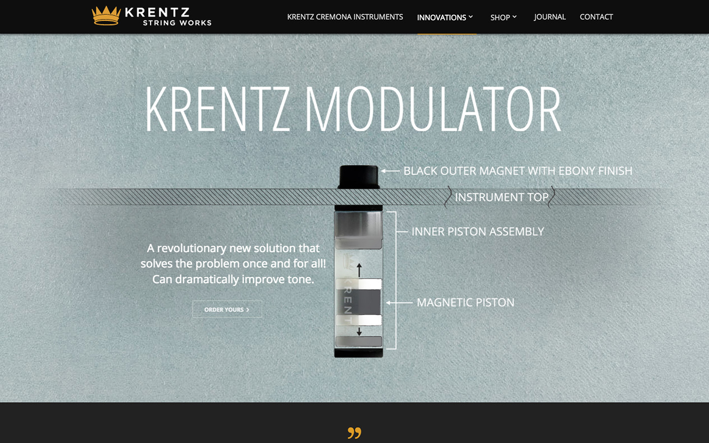 Krentz String Works Modulator Page