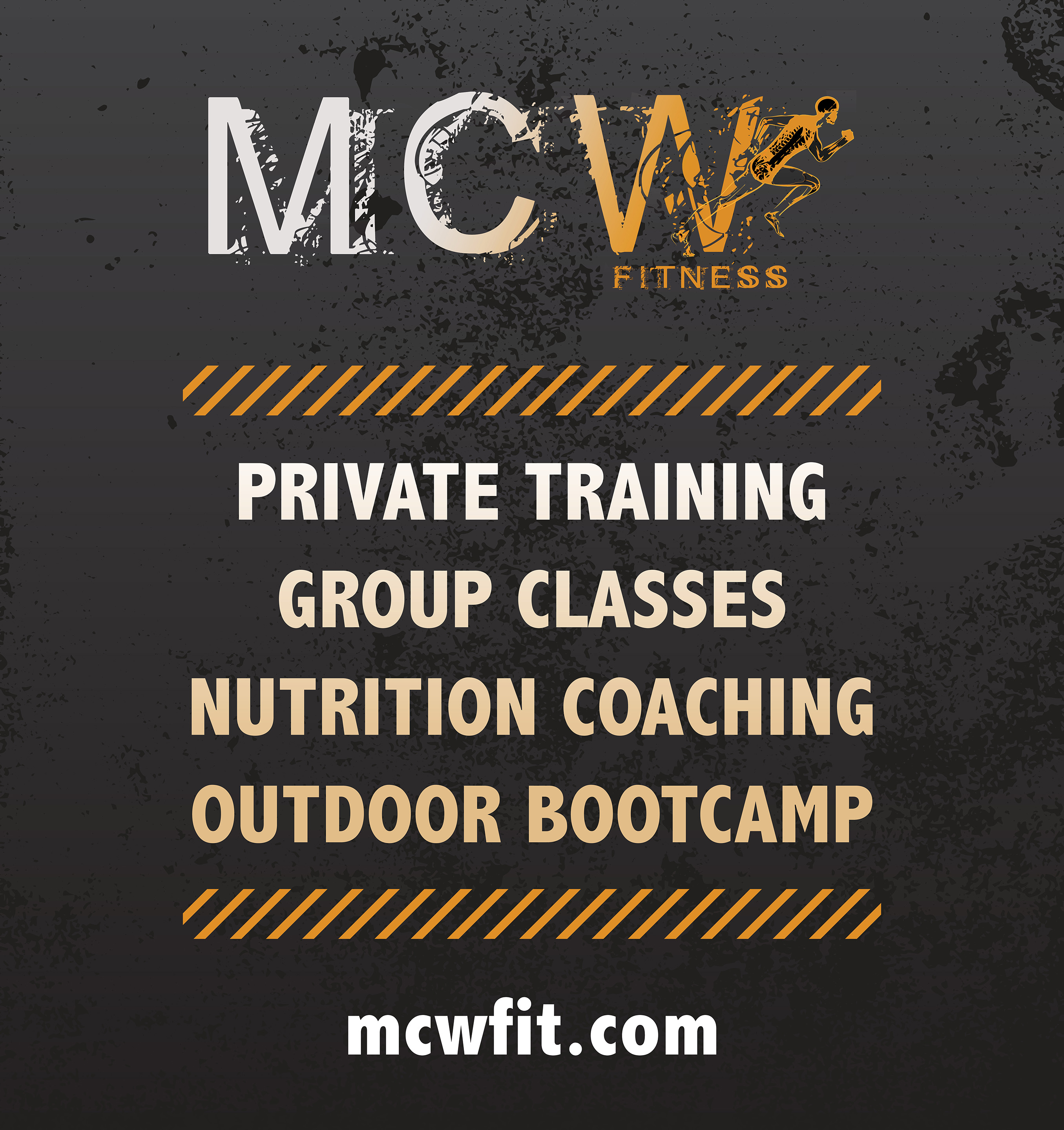 MCW Fitness Sign
