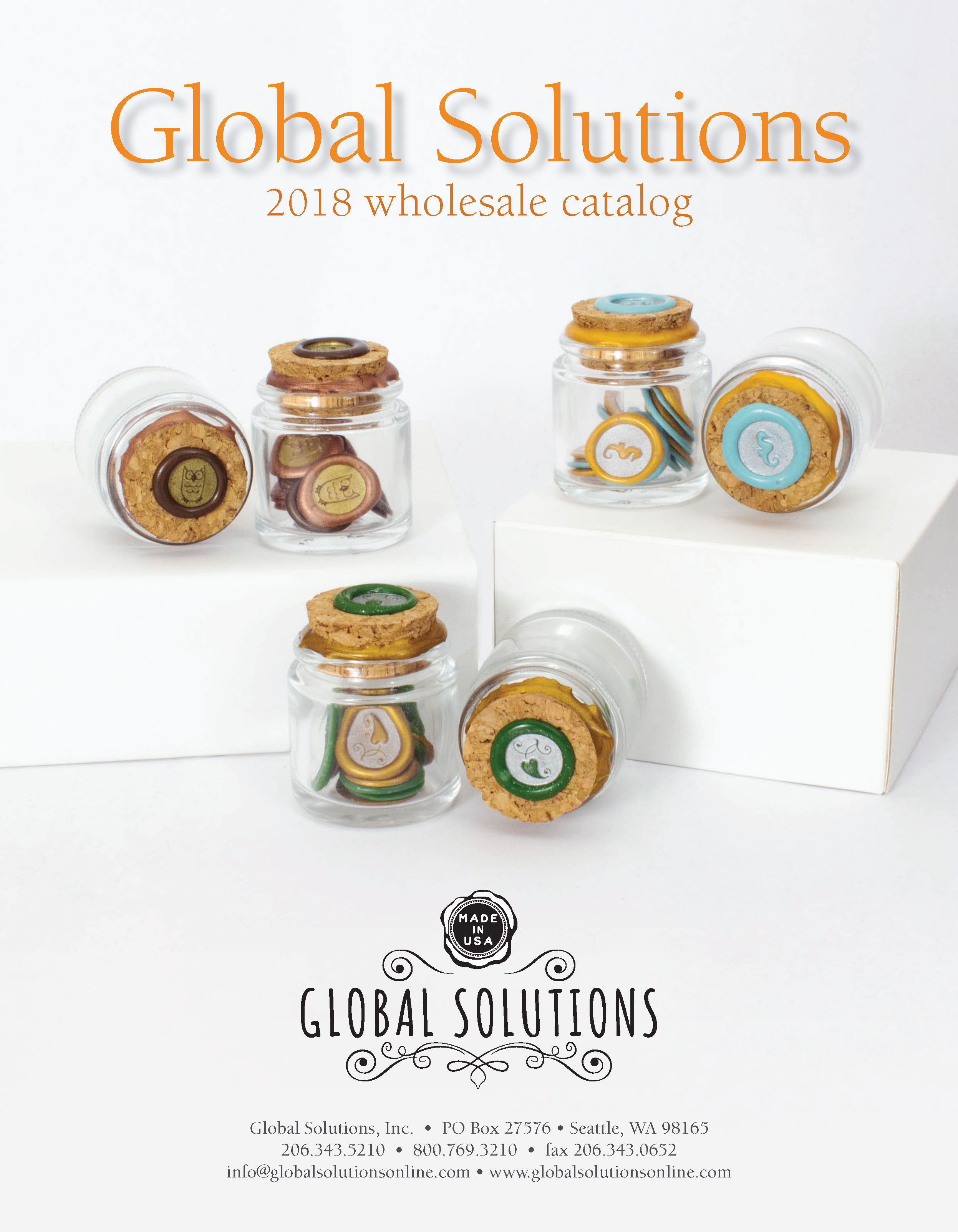 2018 Global Solutions Catalog Cover
