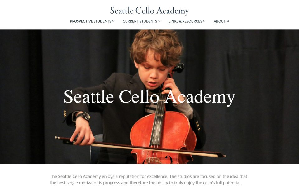 Seattle Cello Academy