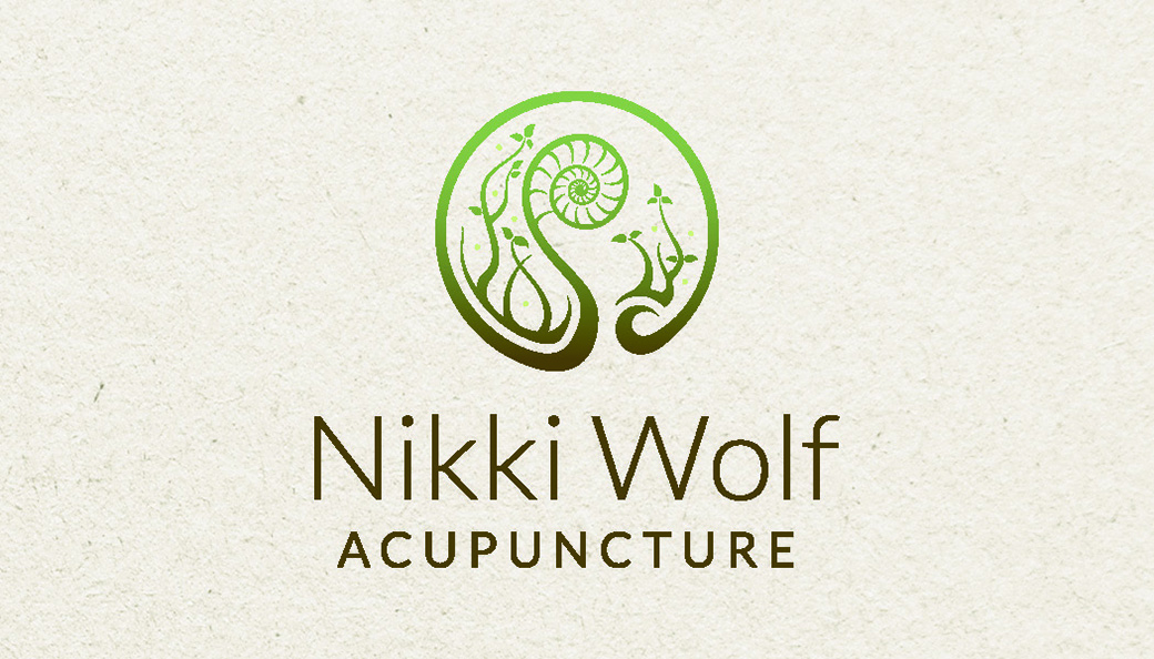 Nikki Wolf Acupuncture Business Card Back