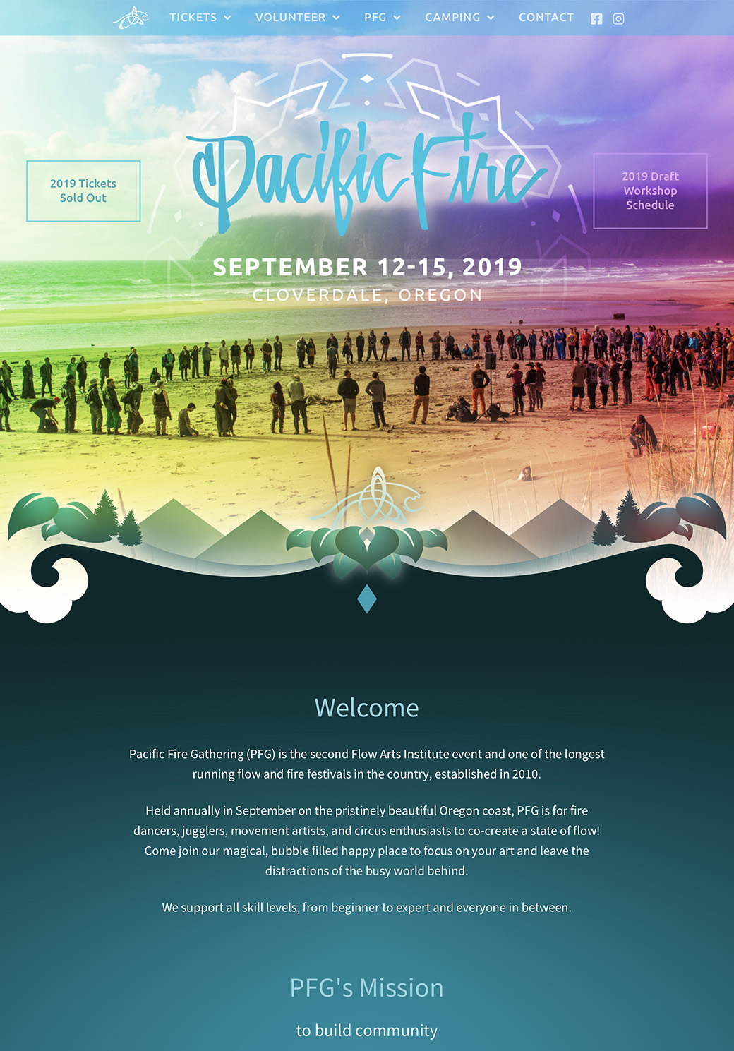 Pacific Fire Gathering Homepage