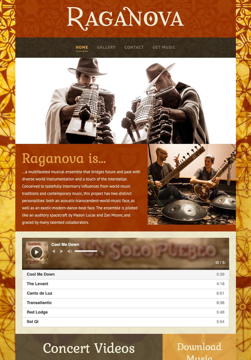 Raganova Homepage