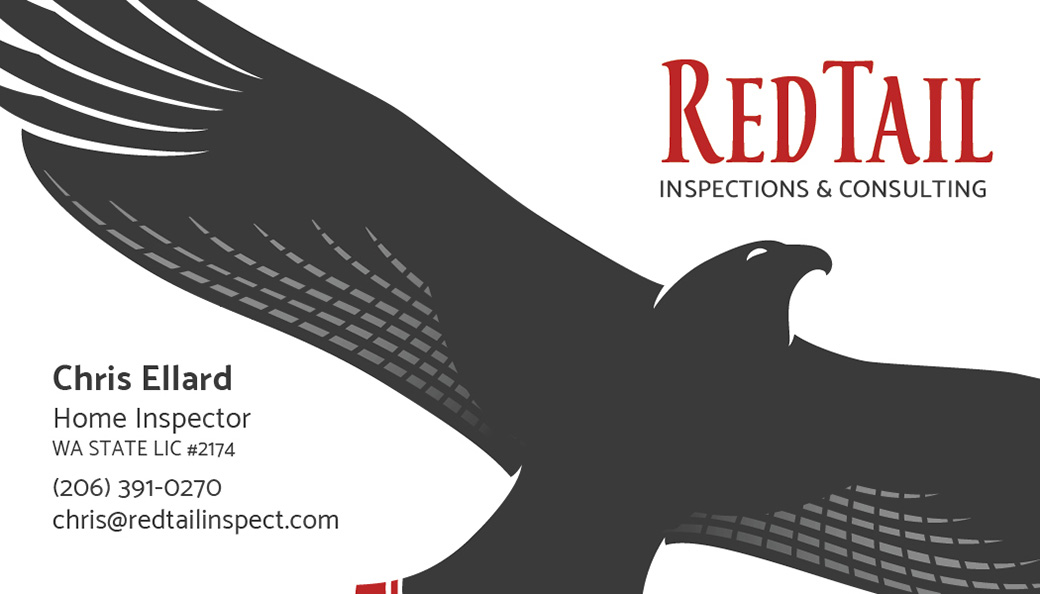 RedTail Inspections & Consulting Business Card Front